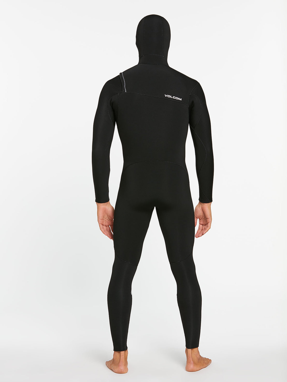 5/4/3MM HOOD CHESTZIP FULLSUIT - BLACK (A9532003) [B]