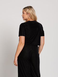 City At Night Short Sleeve - Black (B0141909_BLK) [22]