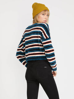 The Favorite Sweater - Stormy Blue (B0731806_STB) [B]