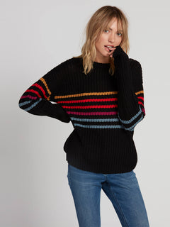 Move On Up Sweater - Black Combo (B0731907_BLC) [F]