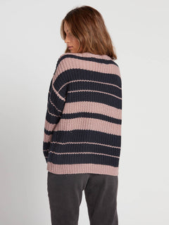 Move On Up Sweater - Faded Mauve (B0731907_FMV) [B]