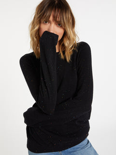 Over N Over Sweater - Black Combo (B0741908_BLC) [12]
