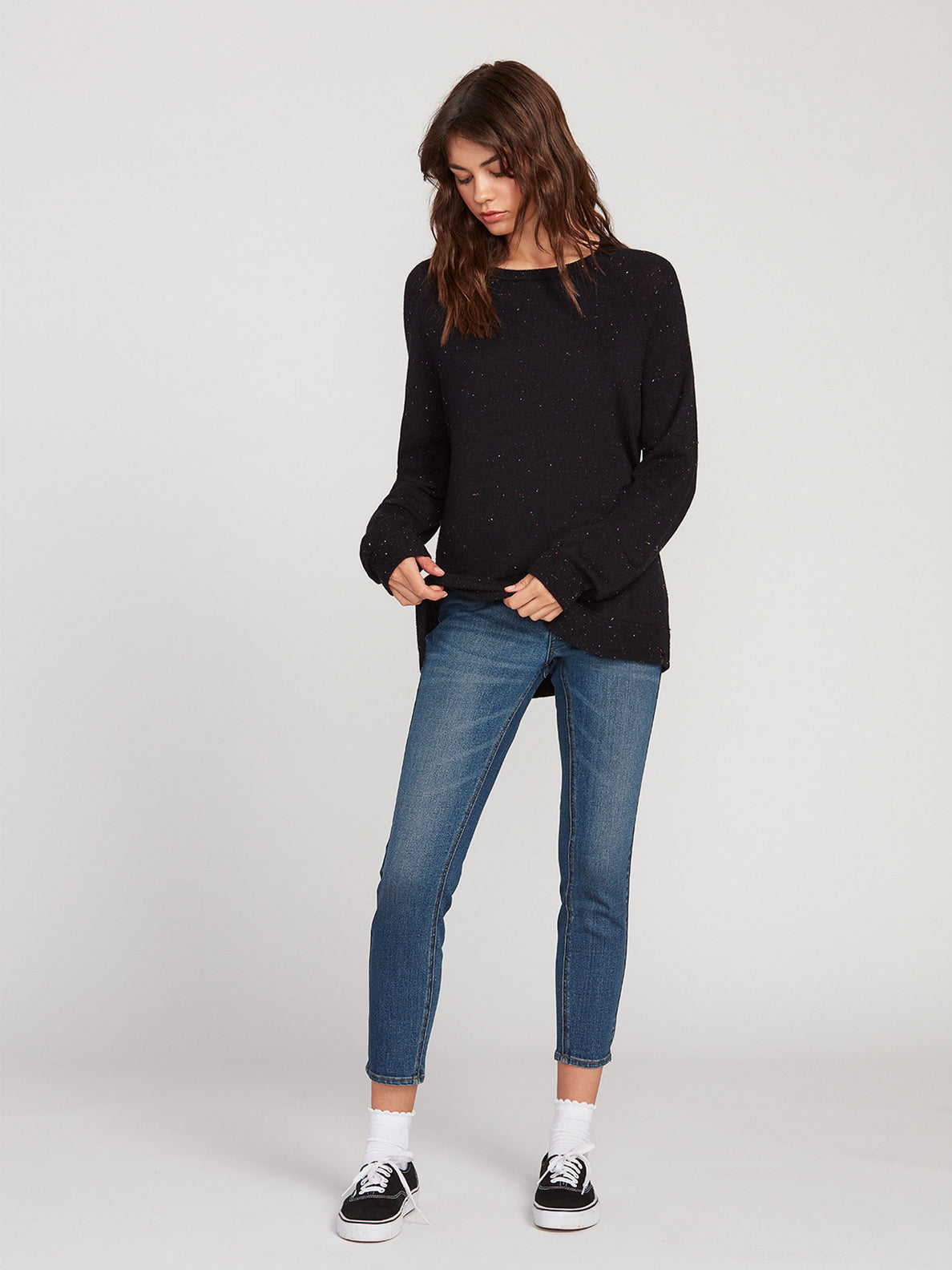 Over N Over Sweater - Black Combo (B0741908_BLC) [1]