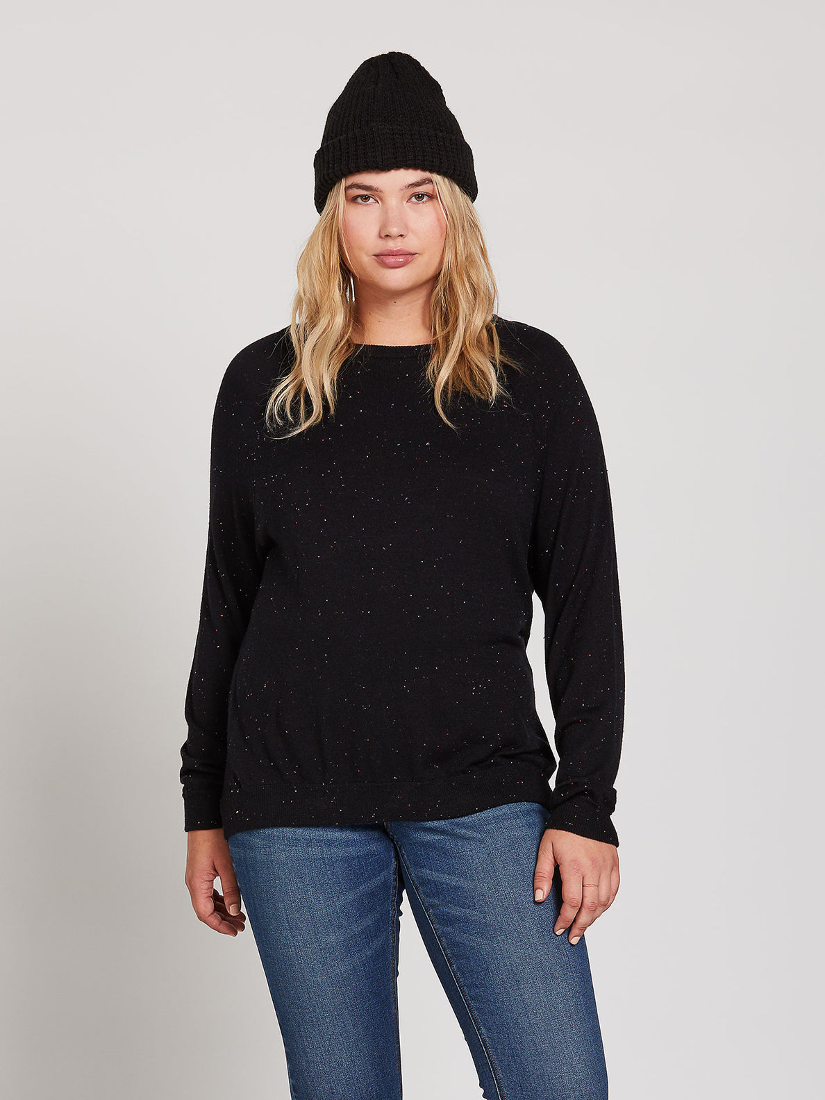 Over N Over Sweater - Black Combo (B0741908_BLC) [21]