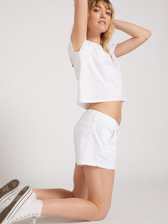 Frochickie Shorts - White (B0911800_WHT) [20]