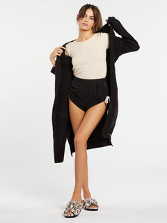 Lived In Lounge Fleece Short - Black (B0931803_BLK) [3]