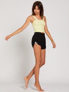 Lived In Lounge Fleece Shorts - Black (B0931803_BLK) [65]