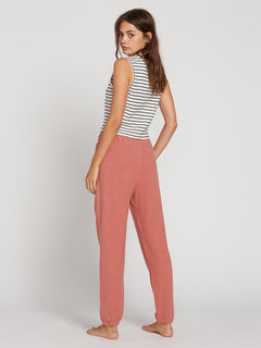 Lived In Lounge Fleece Pants - Mauve (B1111801_MVE) [B]