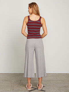 Lived In Lounge Pants In Heather Grey, Back View