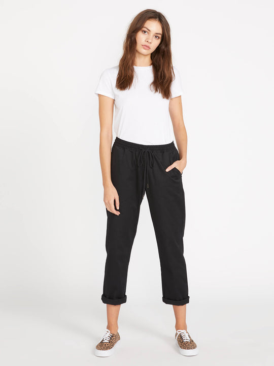 FROCHICKIE TRAVEL PANTS - BLACK (B1141804_BLK) [F]