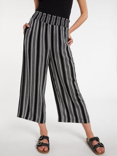 Sunrise Show Pants - Black White (B1232002_BWH) [14]