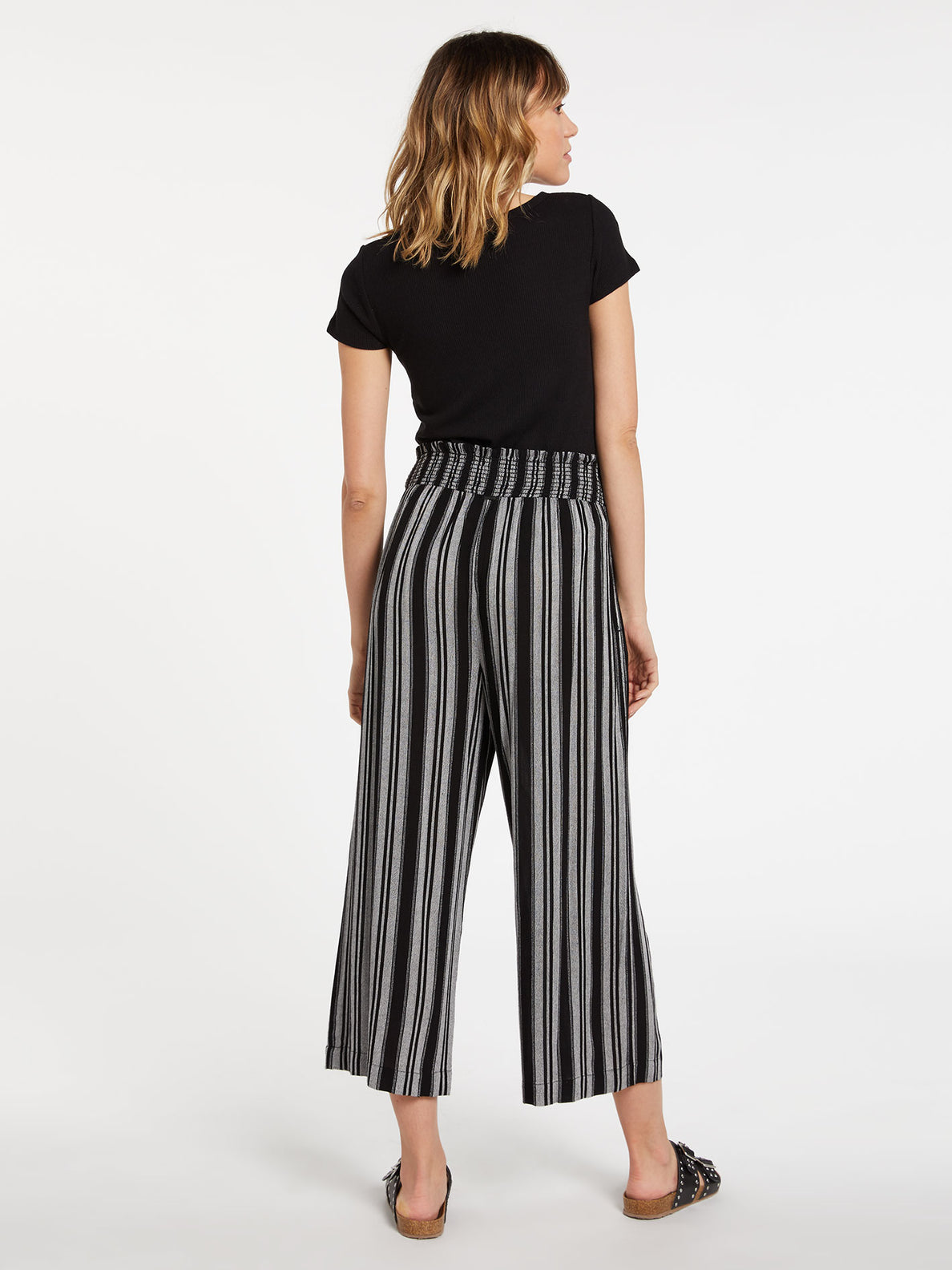 Sunrise Show Pants - Black White (B1232002_BWH) [B]
