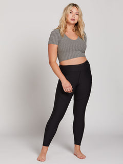 Lived In Lounge Leggings - Black (B1241902_BLK) [37]