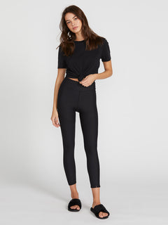 Lived In Lounge Leggings - Black (B1241902_BLK) [F]