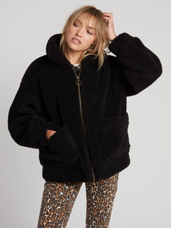 Sea Sherpants Jacket - Black (B1531904_BLK) [1]