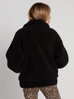 Sea Sherpants Jacket - Black (B1531904_BLK) [B]
