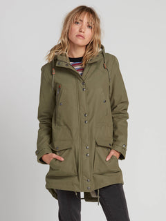 Walk On 5K Parka - Army Green Combo (B1531950_ARC) [1]