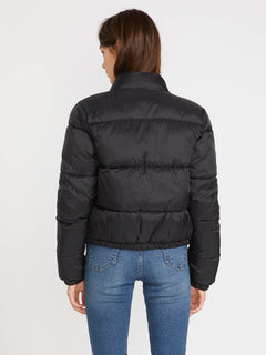 Puffs N Stuf Rev Jacket - Black (B1541901_BLK) [B]