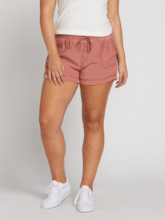 Sunday Strut Shorts In Mauve, Alternate Extended Size View