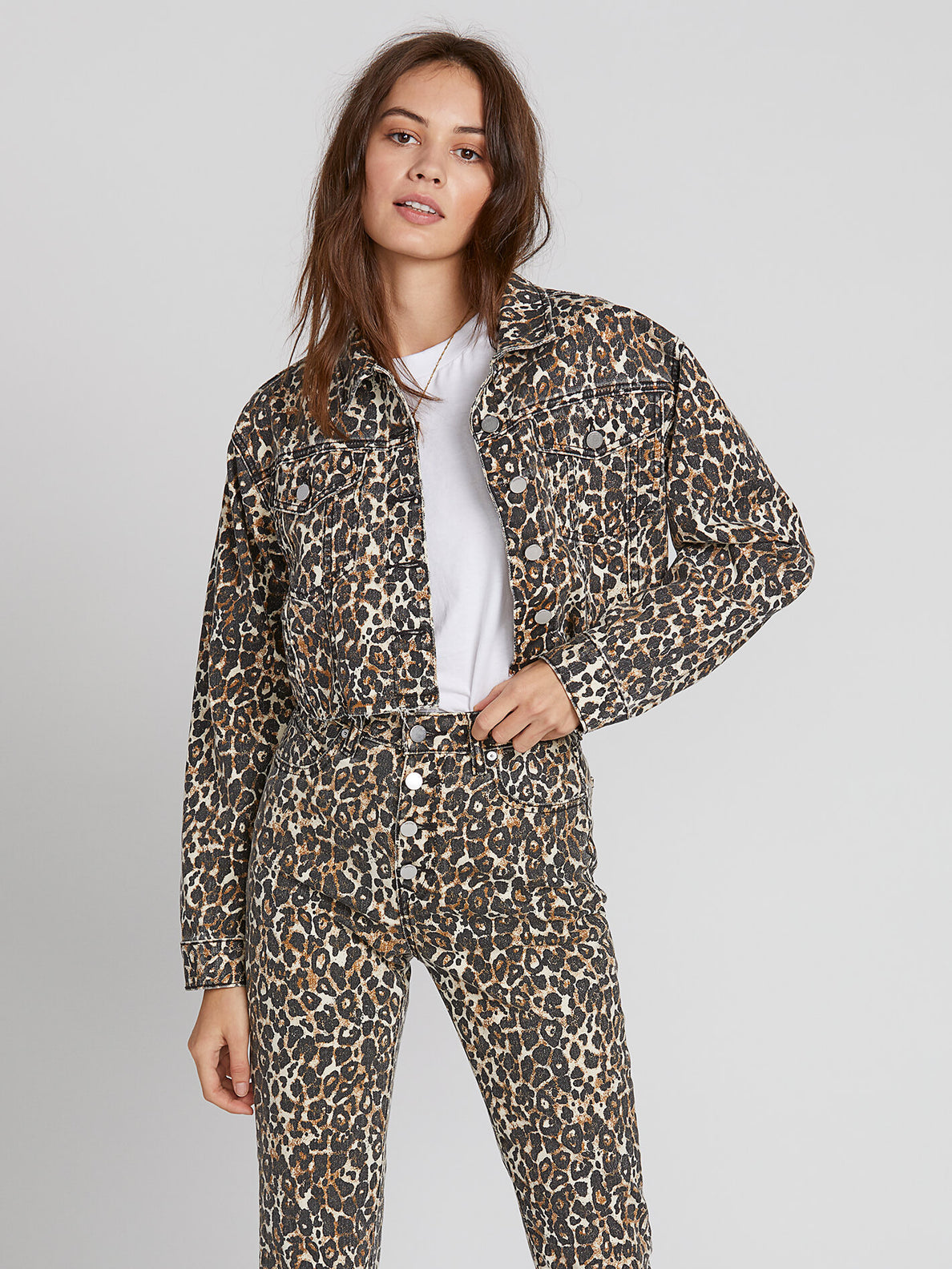 Super Stoneys Jacket - Animal Print (B1931905_ANM) [1]