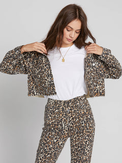 Super Stoneys Jacket - Animal Print (B1931905_ANM) [2]