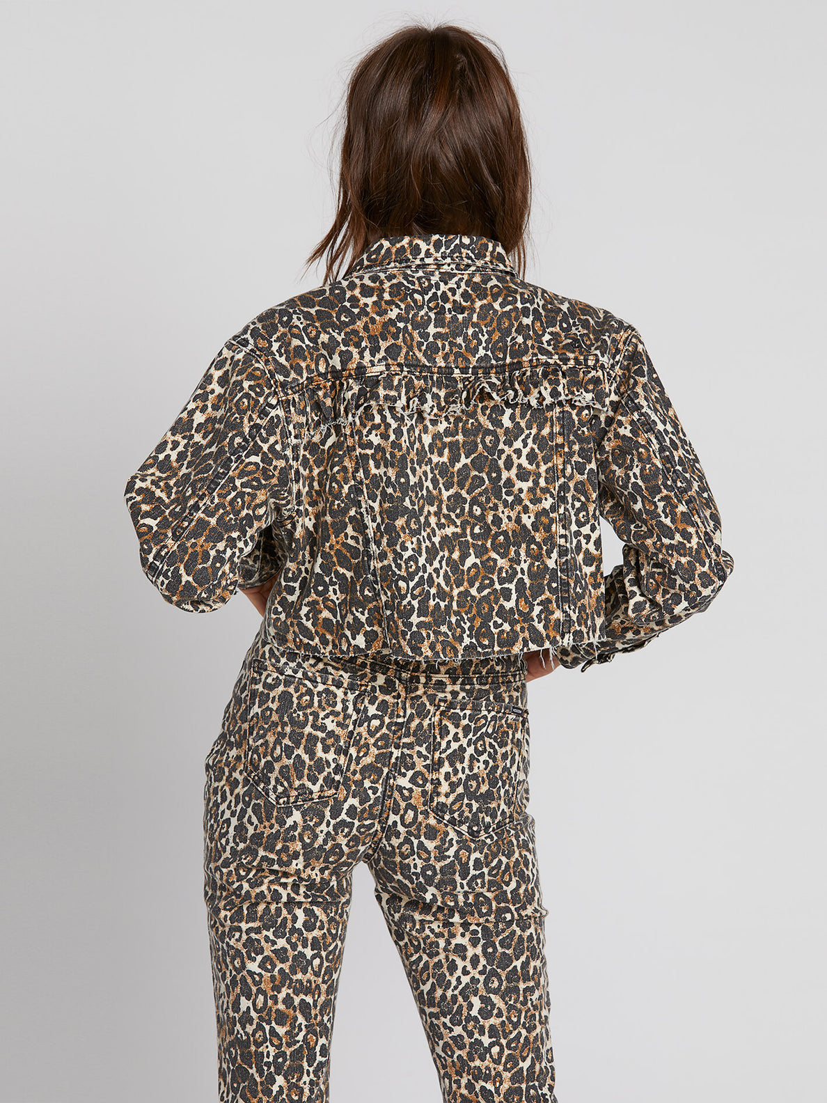 Super Stoneys Jacket - Animal Print (B1931905_ANM) [B]