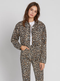 Super Stoneys Jacket - Animal Print (B1931905_ANM) [F]