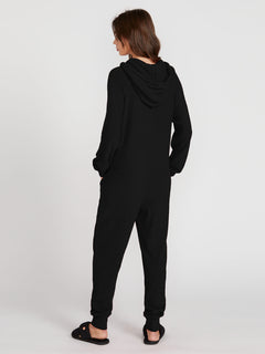 Lived In Lounge Onesie - Scarlet (B2841802_BLK) [B]