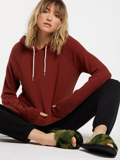 Lived In Lounge Hoodie - Brick (B3111801_BRK) [14]