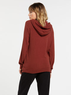 Lived In Lounge Hoodie - Brick (B3111801_BRK) [B]