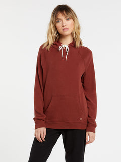 Lived In Lounge Hoodie - Brick (B3111801_BRK) [F]