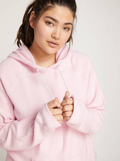 Lived In Lounge Hoodie In Blush Pink, Alternate Extended Size View
