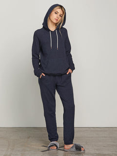 Lived In Lounge Hoodie - Sea Navy