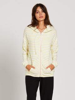LIVED IN LOUNGE ZIP FLEECE (B3111802_TPC) [F]