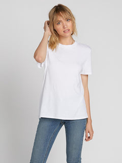 One Of Each Boyfriend Tee - White