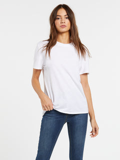 One Of Each Boyfriend Tee - White (B3521909_WHT) [F]