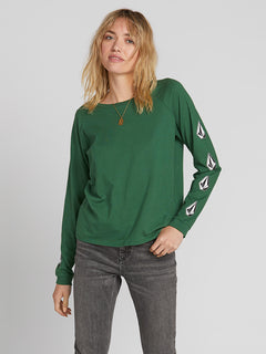 Deadly Stones Long Sleeve - Green (B3531903_GRN) [2]