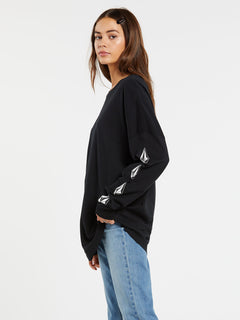 Deadly Stones Long Sleeve - Black (B3632002_BLK) [1]