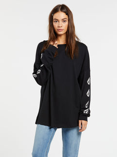 Deadly Stones Long Sleeve - Black (B3632002_BLK) [F]