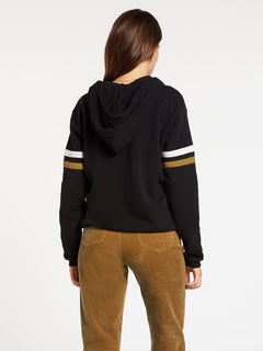Color Coded Hoodie - Black (B4132001_BLK) [B]