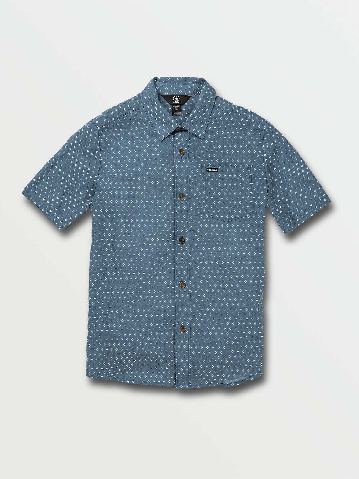 Big Boys Milton Short Sleeve Top - Horizon Blue (C0432006_HZN) [F]