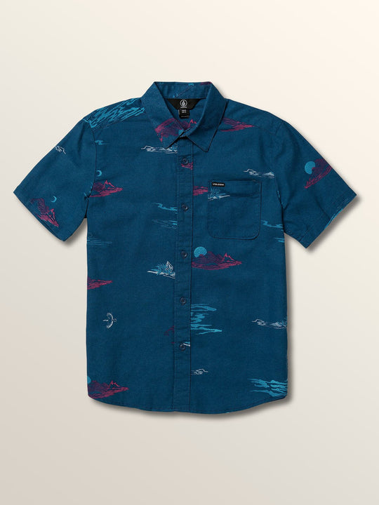Big Boys Sub Phase Short Sleeve Shirt