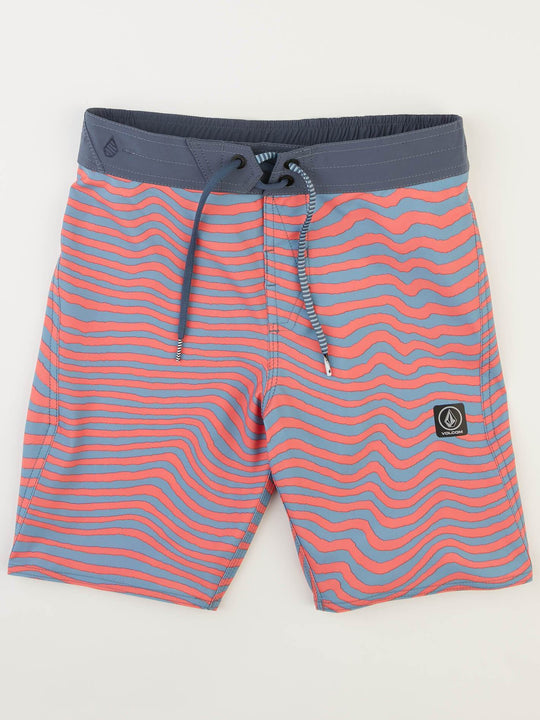 Big Boys Mag Vibes Elastic Boardshorts