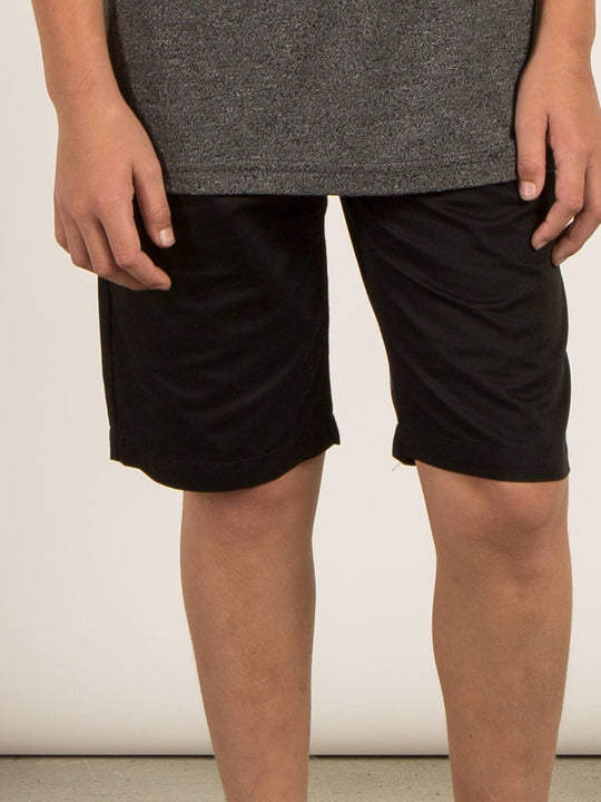 BIG BOYS FRICKIN CHINO SHORTS - Black