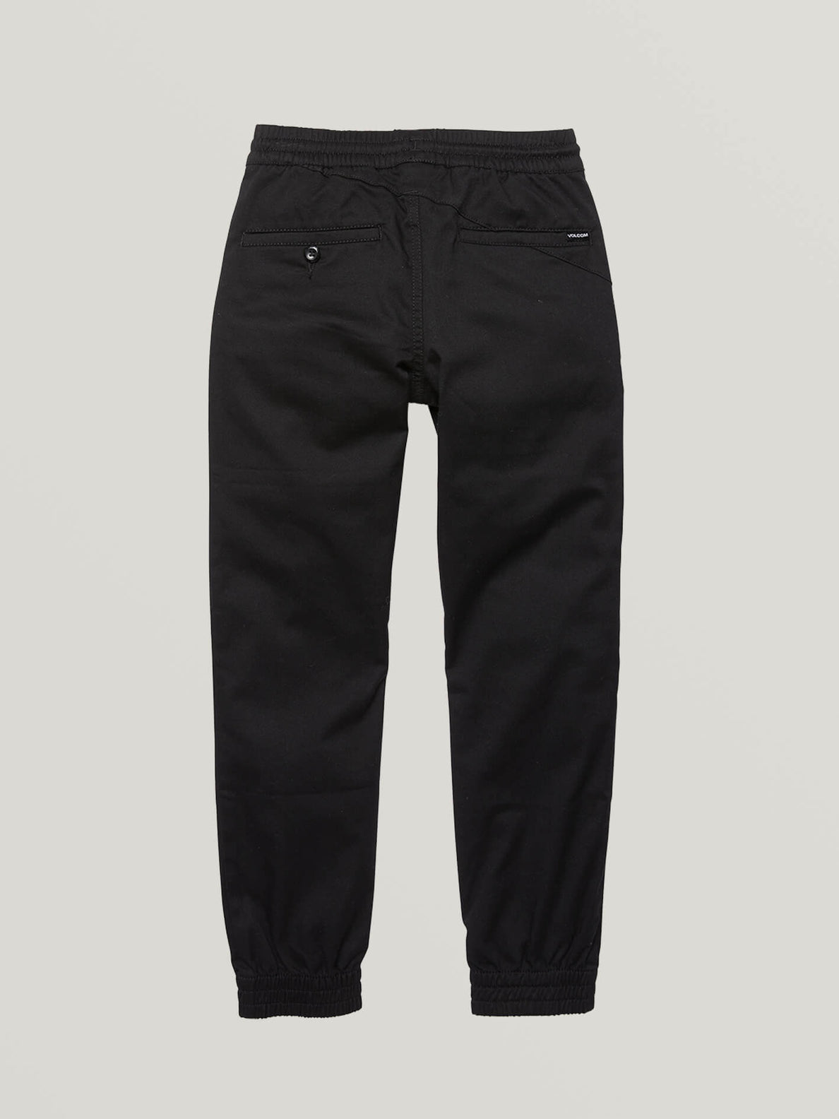 Big Boys Frickin Slim Jogger Pants In Black, Back View