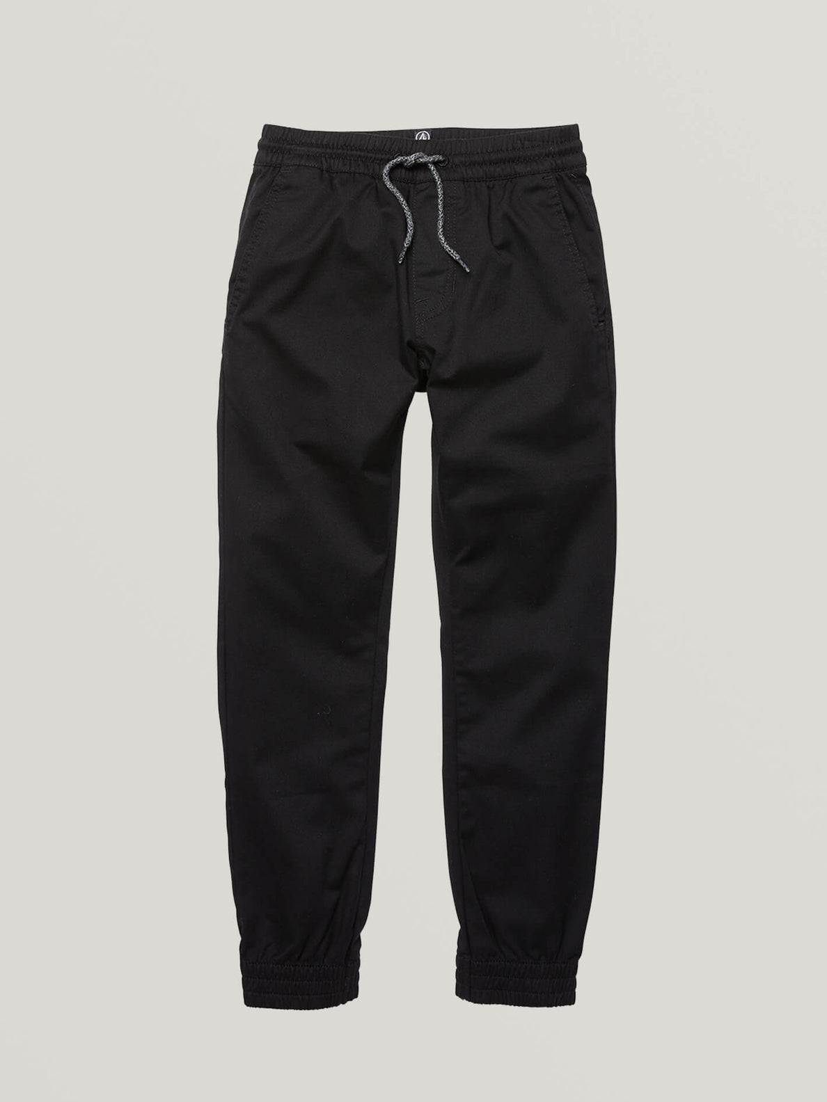 Big Boys Frickin Slim Jogger Pants In Black, Front View