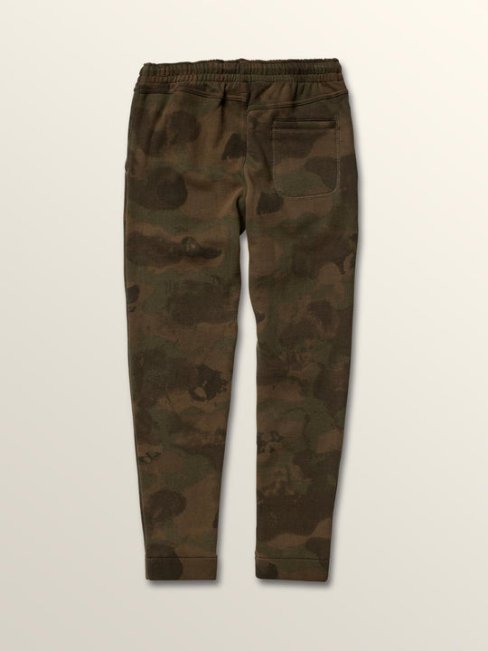 Big Boys Deadly Stones Pants In Camouflage, Back View