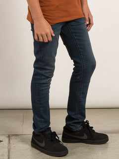 Big Boys Solver Modern Tapered Jeans In Dust Bowl Indigo, Alternate View