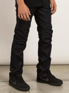 Big Boys Solver Modern Tapered Jeans In Rinse, Alternate View