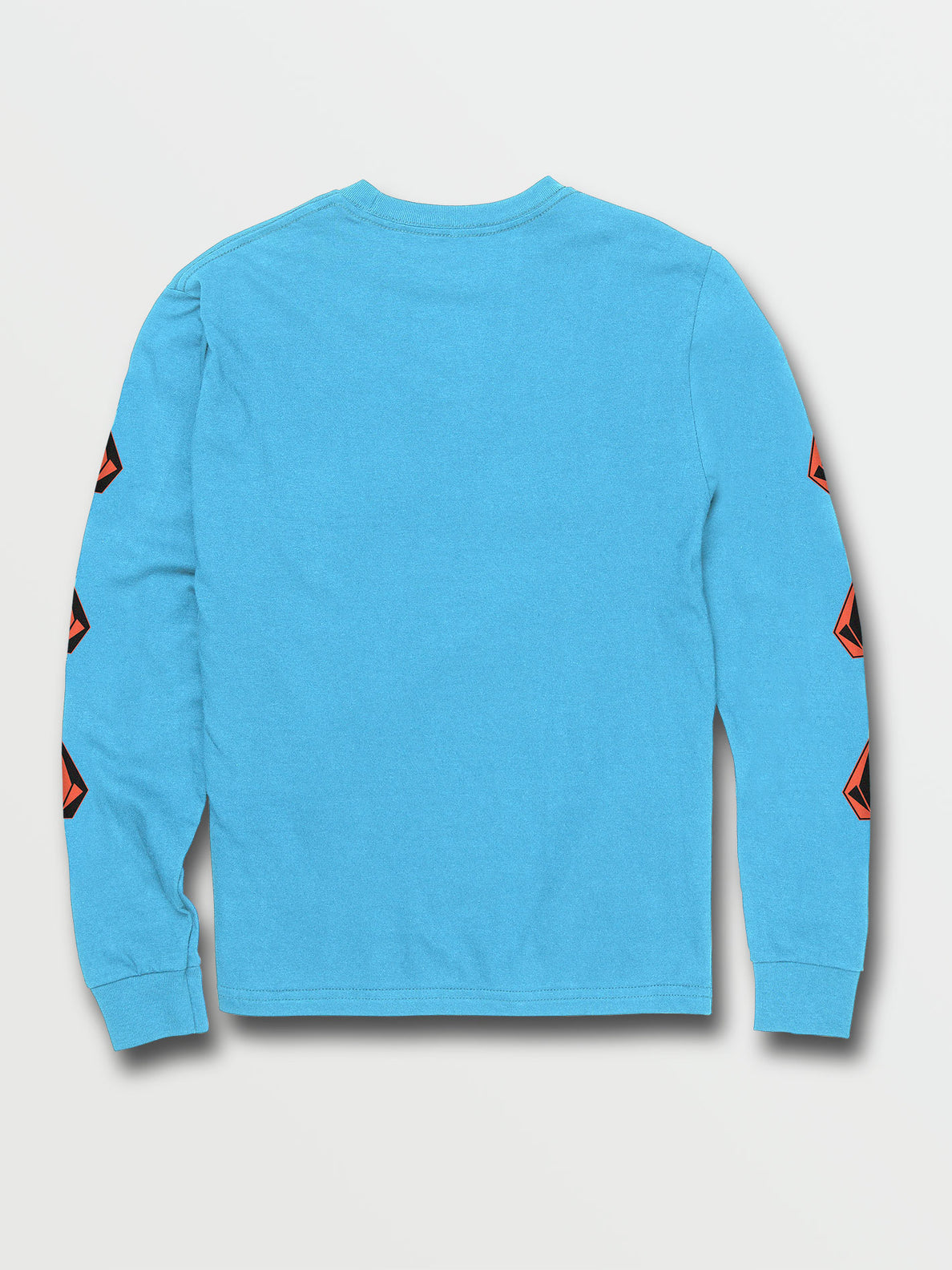 Big Boys Deadly Stones Long Sleeve Tee - Aqua (C3631702_AQU) [B]